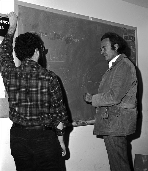 Richard P. Feynman at Fermilab, 1972 December 8-9