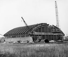 Meson Lab Construction October, 1972