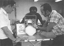 A semi-portable, special nuclear radiation detector built at NAL