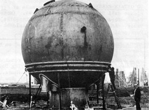 Completed Vacuum Tank