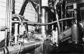 Jet Target assembly in NAL Main Ring, a collaboration of Soviet and American physicists