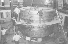 March, 1972, the superconducting magnet