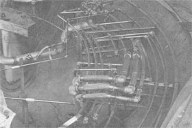 June, 1972, internal piping