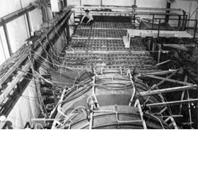 Experimental equipment for Experiment 1-A at NAL