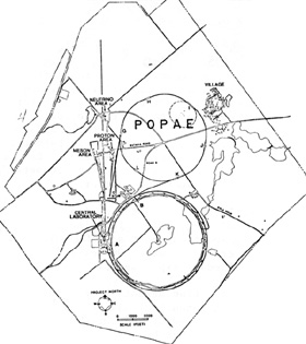 Proposed location of POPAE