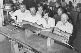 Engr. Servs. Design Group L-R: N. Avgerenos, R. Roth, A. Oleck, W. Robotham, N. Engler, R. Jornd. Not shown: H. Barber, J. Winterkamp